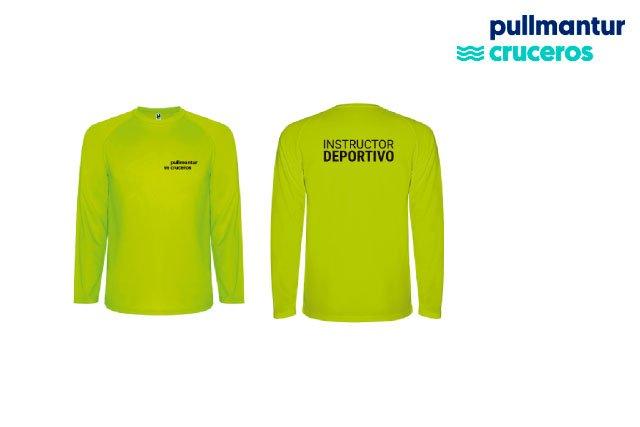 Camiseta Técnica Personalizada para Pullmantur