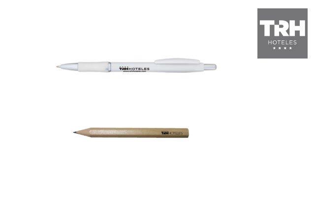 Lápices y Boligrafos personalizados para TRH