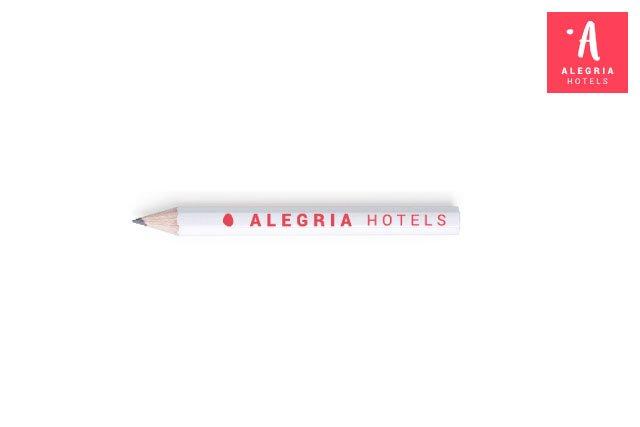 Lapiz Personalizado para Hotel Alegria