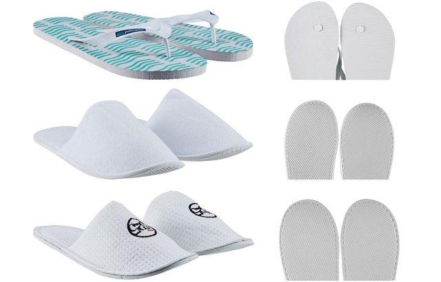 Zapatillas personalizadas para Hotel