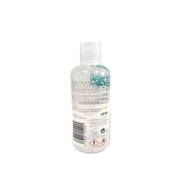 Gel hidroalcohólico Botella Tapón Dosificador 100ml SMK