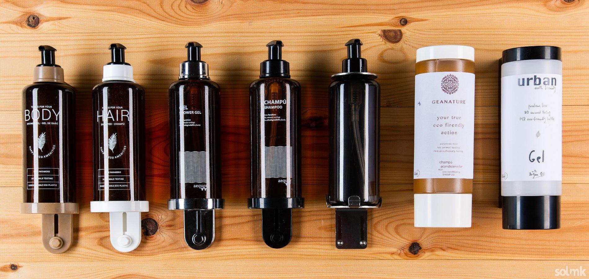 Dosificadores de pared para Amenities