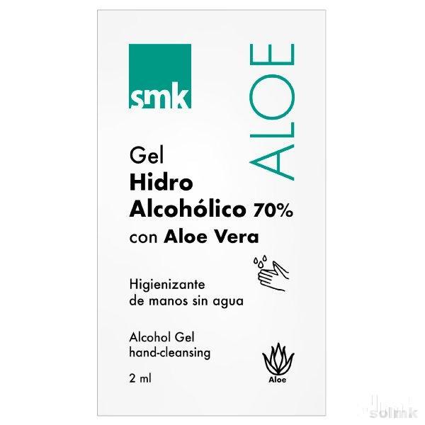 Sobre monodosis Gel hidroalcohólico 2ml SMK